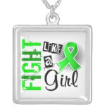 Fight Like A Girl Lyme Disease 36.8 Necklaces