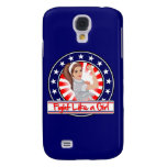 Fight Like a Girl Modern Patriotic Rosie Riveter Galaxy S4 Cover