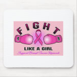 Fight Like A Girl Mouse Pad