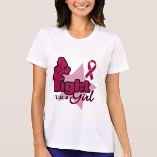 Fight Like a Girl - Multiple Myeloma Tee Shirts