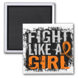 Fight Like a Girl Multiple Sclerosis 31.8 Refrigerator Magnet