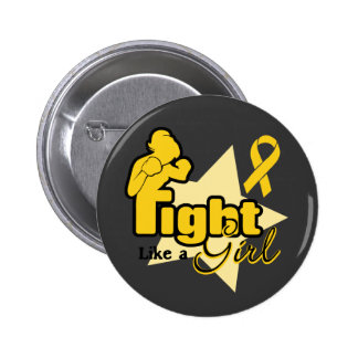 Fight Like a Girl - Neuroblastoma 2 Inch Round Button