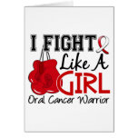 Fight Like A Girl Oral Cancer 15.2 Cards