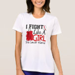 Fight Like A Girl Oral Cancer 15.2 Shirt