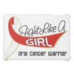 Fight Like A Girl Oral Cancer 25.4 iPad Mini Cases