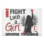 Fight Like A Girl Oral Cancer 26.2 Cover For The iPad Mini