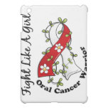 Fight Like A Girl Oral Cancer 29.4 iPad Mini Cases
