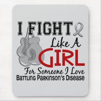 Fight Like A Girl Parkinson s Disease 15 6 Mousepad