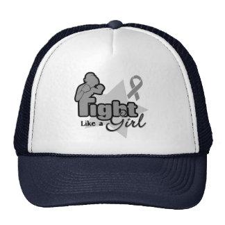 Fight Like a Girl - Parkinsons Disease Trucker Hat