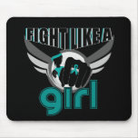 Fight Like A Girl PCOS 33.8 Mousepad