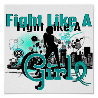 Fight Like A Girl PKD 30 8 Print