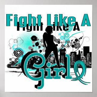Fight Like A Girl PKD 30.8 Print