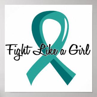 Fight Like A Girl PKD 41.8 Poster