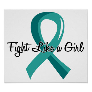 Fight Like A Girl PKD 41.8 Print