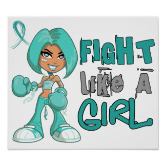 Fight Like a Girl PKD 42.8.png Poster
