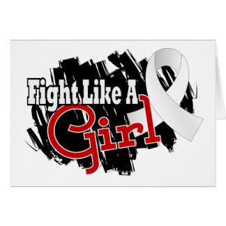 Fight Like A Girl Retinoblastoma 17 8 Card