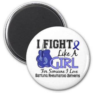 Fight Like A Girl Rheumatoid Arthritis 15.6 Magnets