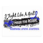 Fight Like A Girl Rheumatoid Arthritis 19.1 Postcards