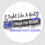 Fight Like A Girl Rheumatoid Arthritis 19.1 Sticker
