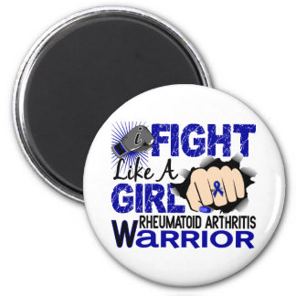 Fight Like A Girl Rheumatoid Arthritis 20.2 Magnets
