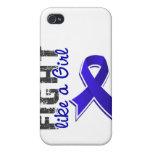 Fight Like A Girl Rheumatoid Arthritis 28.8 iPhone 4 Cover