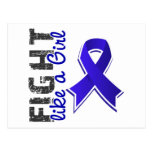 Fight Like A Girl Rheumatoid Arthritis 28.8 Post Card