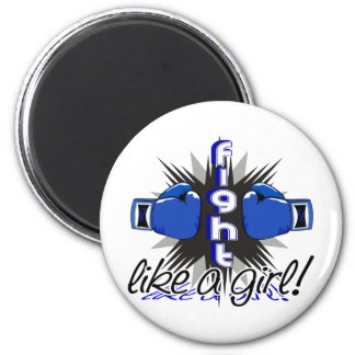 Fight Like A Girl Rheumatoid Arthritis 32.8 Fridge Magnet