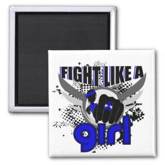 Fight Like A Girl Rheumatoid Arthritis 33.8 Fridge Magnet