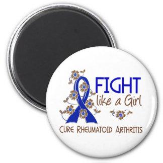 Fight Like A Girl Rheumatoid Arthritis 38.82 Fridge Magnet