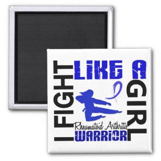 Fight Like A Girl Rheumatoid Arthritis 3.2 Refrigerator Magnets