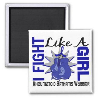 Fight Like A Girl Rheumatoid Arthritis 8.2 Refrigerator Magnet
