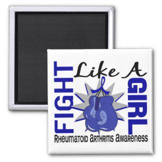 Fight Like A Girl Rheumatoid Arthritis 8.3 Magnets