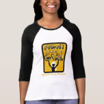 Fight Like A Girl Slogan Sign Appendix Cancer Shirt
