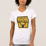 Fight Like A Girl Slogan Sign Appendix Cancer T-shirt