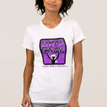 Fight Like A Girl Slogan Sign Domestic Violence Tshirts