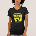 Fight Like A Girl Slogan Sign Sarcoma Shirt