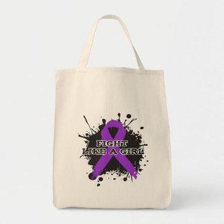 Fight Like A Girl Splatter - Epilepsy Bags