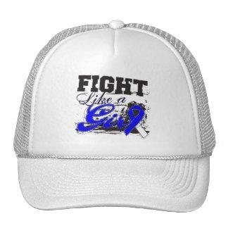 Fight Like a Girl Spray Paint - ALS Disease Trucker Hat