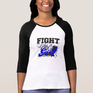 Fight Like a Girl Spray Paint - ALS Disease Tshirts