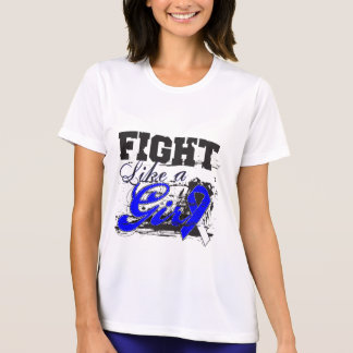 Fight Like a Girl Spray Paint - ALS Disease Tees