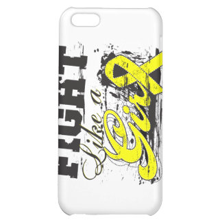 Fight Like a Girl Spray Paint - Bladder Cancer iPhone 5C Cover