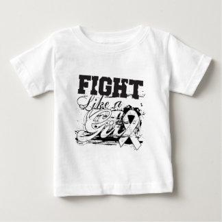 Fight Like a Girl Spray Paint - Bone Cancer T Shirt
