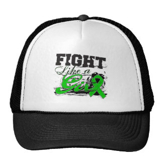 Fight Like a Girl Spray Paint - Cerebral Palsy Trucker Hat
