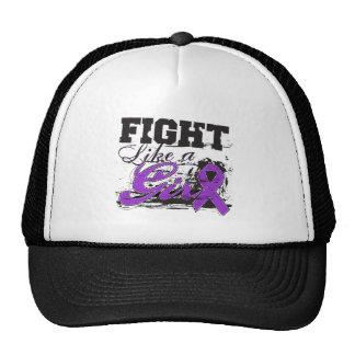 Fight Like a Girl Spray Paint - Crohn's Disease Trucker Hat