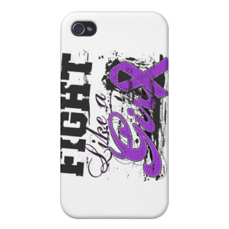 Fight Like a Girl Spray Paint - Epilepsy Covers For iPhone 4