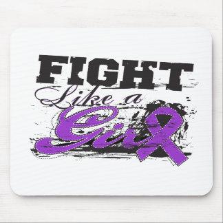 Fight Like a Girl Spray Paint - Epilepsy Mouse Pads