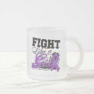 Fight Like a Girl Spray Paint - Epilepsy Mugs