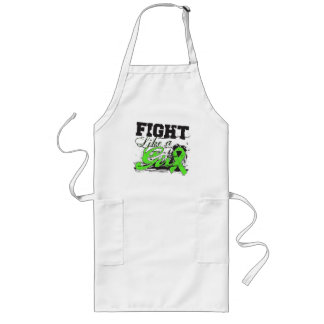 Fight Like a Girl Spray Paint - Lyme Disease Long Apron