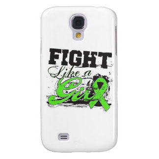 Fight Like a Girl Spray Paint - Lyme Disease Samsung Galaxy S4 Cover