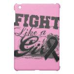 Fight Like a Girl Spray Paint - Melanoma iPad Mini Cases